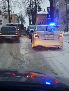 Фотофакт: авария на улице Имантас
