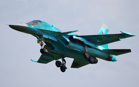 Российский Су-34 перехватили над Балтикой