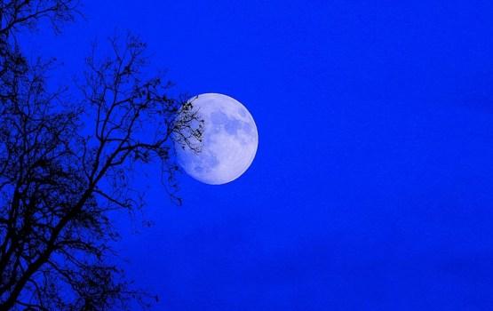 Сегодня можно будет увидеть сразу три редких лунных явления