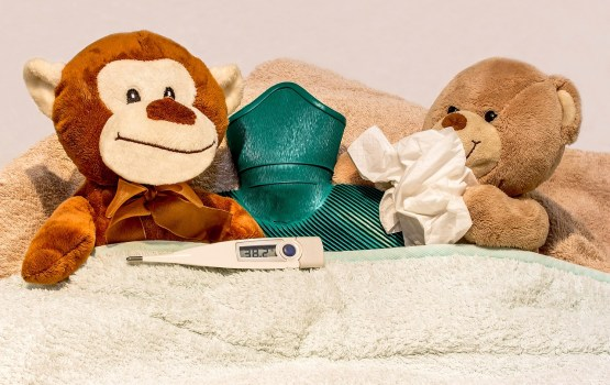 Гриппом больше всего болеют дети в возрасте до четырех лет