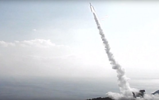 Япония произвела запуск самой маленькой в мире ракеты-носителя (ВИДЕО)