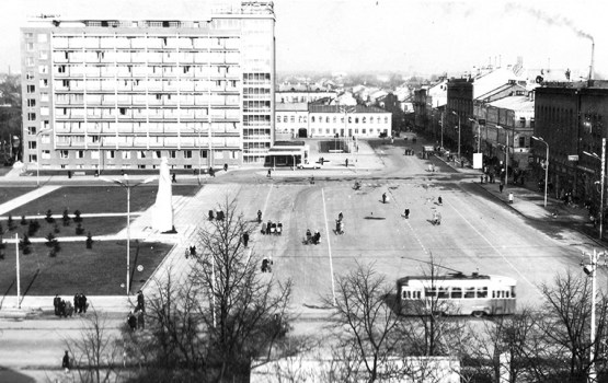 Из советской истории улицы Ригас