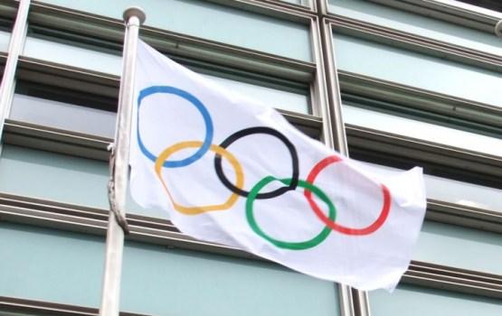 Вейонис поднял флаг Латвии в олимпийской деревне