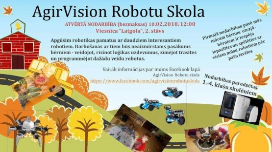 Малышей на бесплатное занятие приглашает Школа роботов