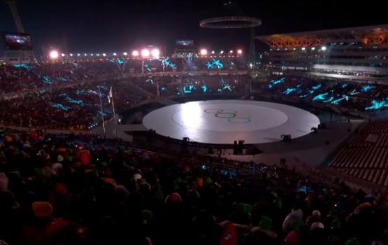 Латвийские спортсмены поучаствовали в параде олимпийцев на церемонии открытия Игр