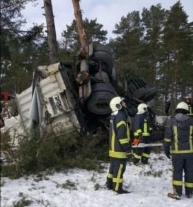ФОТО: Тяжелая авария на Таллинском шоссе; есть пострадавшие