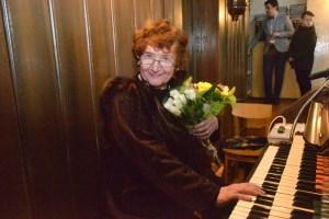 В Даугавпилсе впервые выступила известная органистка