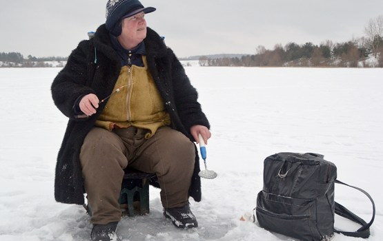 О зимней рыбалке, рыбаках и рыбке
