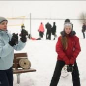 День зимнего спорта прошел на ура (ФОТО, ВИДЕО)