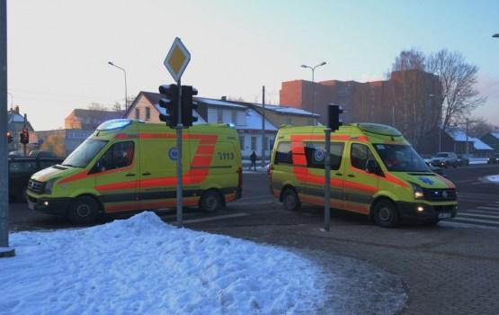 У мужчины на улице наступила клиническая смерть