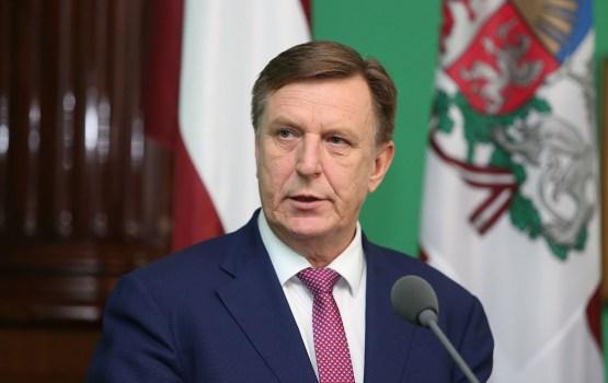Премьер: «Я уверен, что финансовый сектор Латвии сохранит стабильность»