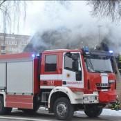 Фотофакт: на улице Гродняс горит жилой дом