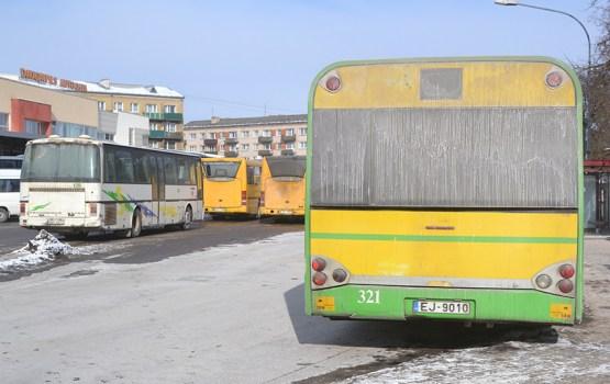 Морозы «добивают» автобусы Daugavpils satiksme