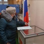 Президента РФ в Даугавпилс съехались выбирать со всей Латгалии