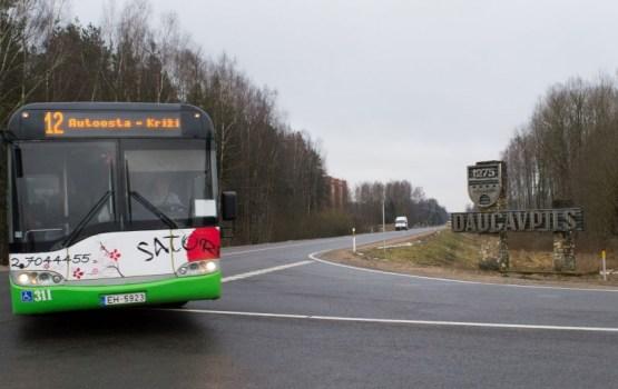 По просьбе даугавпилчан внесены изменения в расписание городских автобусов