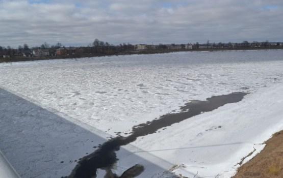 Даугава – в ожидании ледохода