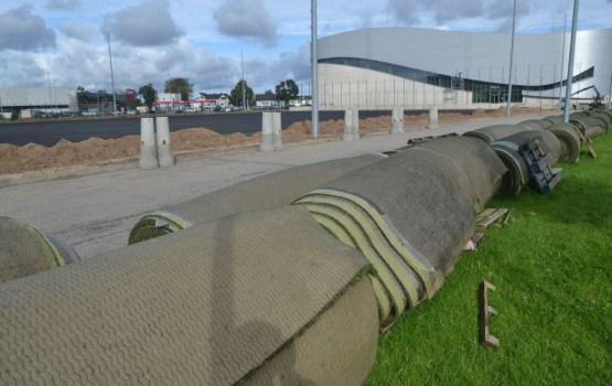 К лету хотят полностью обновить футбольный стадион на Эспланаде