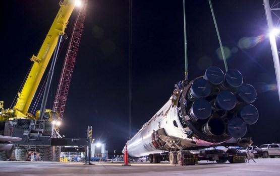 SpaceX создала самый тяговооруженный в мире двигатель