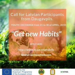 Jaunieši tiek aicināti piedalīties Erasmus+ starptautiskajā projektā