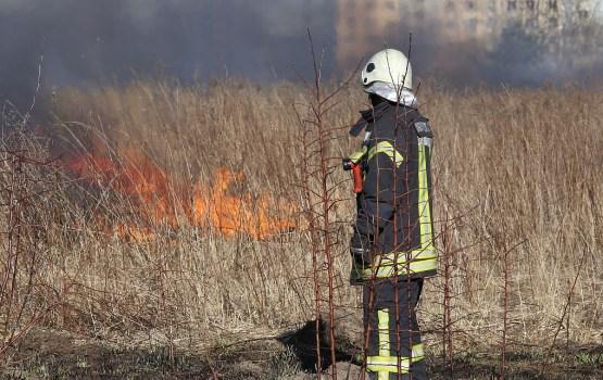В субботу произошло уже 72 пожара прошлогодней травы