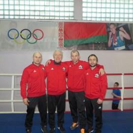 Даугавпилсские боксеры провели командный матч в Минске