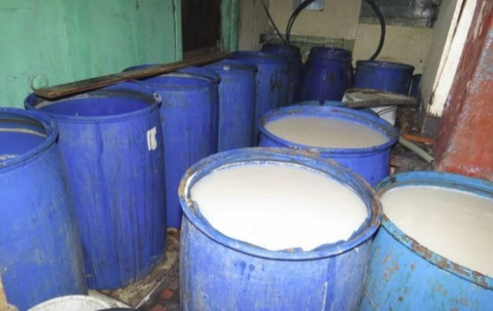 В Таборе ликвидировали самогонный завод на дому