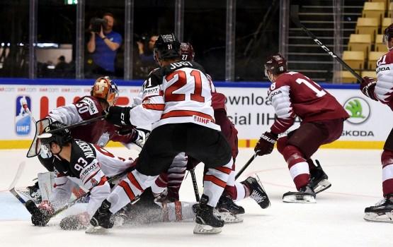 Шикарная игра сборной Латвии