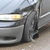 Фотофакт: серьезная авария в центре города (ВИДЕО)