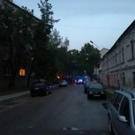 Пожар возле Генконсульства России – ложная тревога (ВИДЕО)
