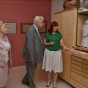 Акценты встречи с министром земледелия в Науенском музее