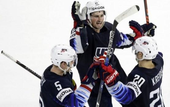 США завоевали бронзу на чемпионате мира по хоккею