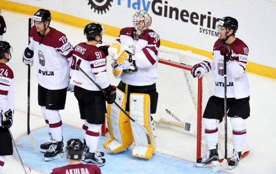 Латвийские хоккеисты получат премии за выход в четвертьфинал