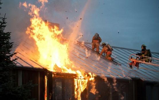 В Даугавпилсском крае при пожаре погиб человек