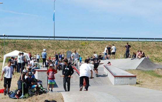На Эспланаде прошли соревнования по уличным видам спорта