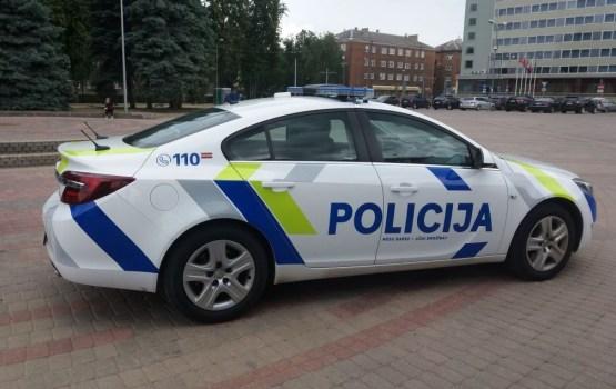 В Даугавпилсе презентовали новый дизайн патрульных машин