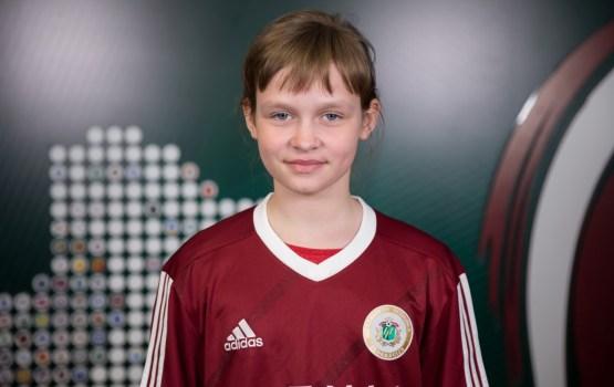 Школьница из Резекне стала участницей проекта Football for Friendship