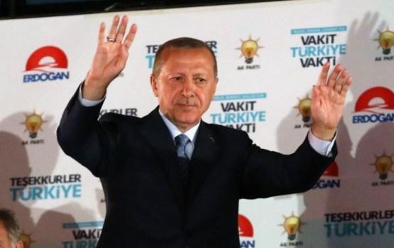 Эрдоган одержал победу на выборах президента Турции