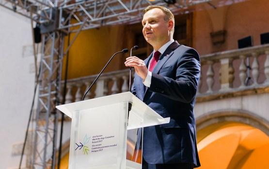 С визитом в Латвию прибывает президент Польши