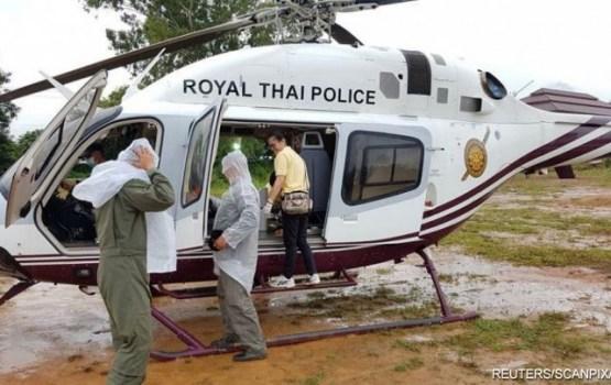 Из затопленной пещеры в Таиланде вывели всех детей и тренера