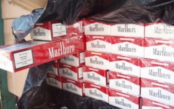 Под Огре накрыли подпольную фабрику по производству сигарет Marlboro и Prince