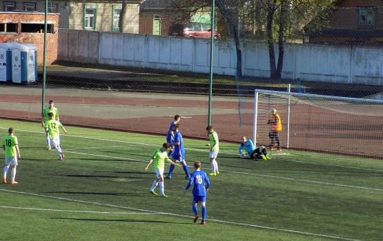 Футбол: даугавпилчанам вновь сопутствует удача