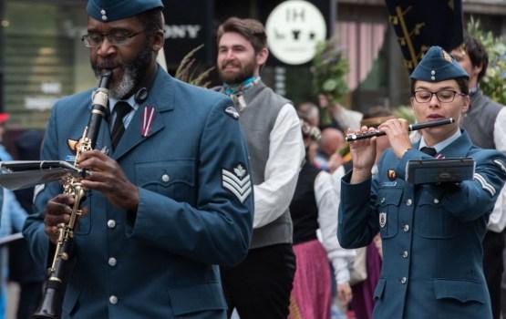 В Даугавпилсе выступит оркестр Канадских вооруженных сил