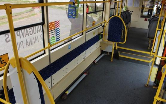 Борьба за место в трамваях