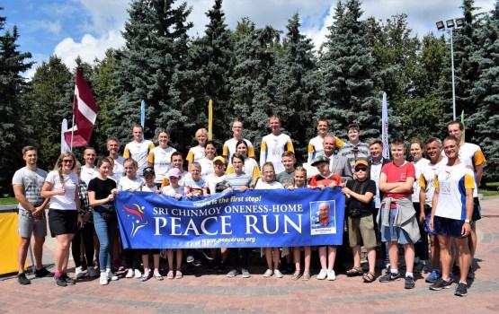 «Мировые» бегуны посетили Даугавпилс