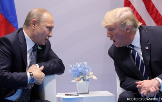 Финская газета опубликовала письмо Путину и Трампу