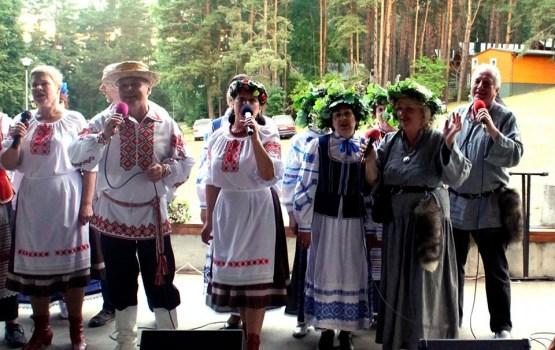 На празднике Купалье у белорусов Литвы