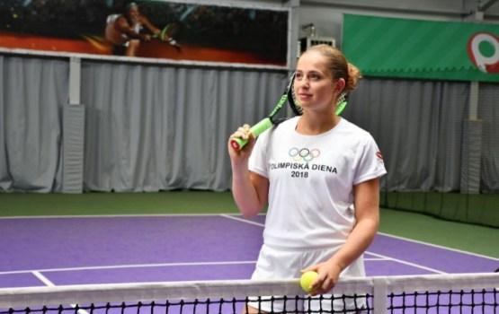 Алена Остапенко всех зовет на Олимпийский день