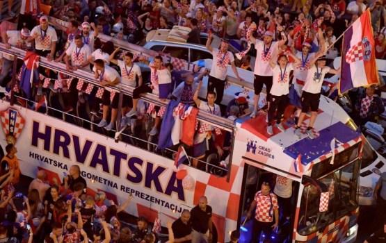 ЧМ-2018: как в Париже и Загребе встречали футбольных героев