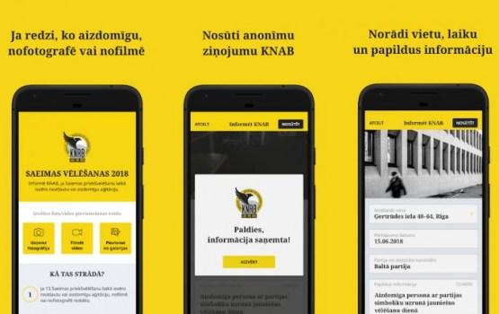 Пожаловаться на предвыборную агитацию можно будет через приложение KNAB