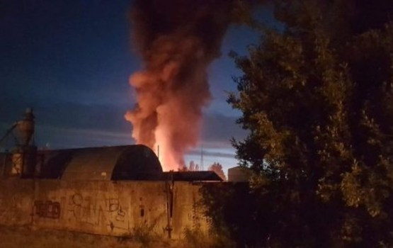 Жителям Олайне не сообщили об опасном пожаре. Сообщат ли в Даугавпилсе?